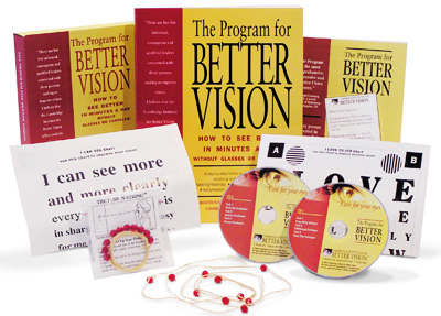 The Program for Better Vision: eye care & vision improvement system